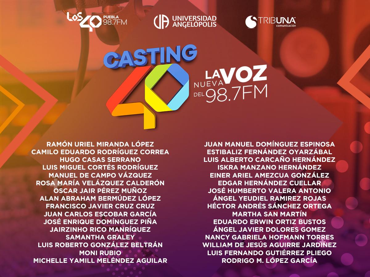 Casting_40_Seleccionados